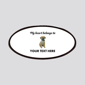 Personalized Puggle Patch