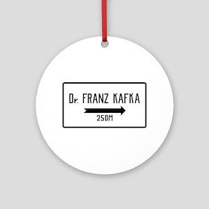 Dr. Franz Kafka, Prague Cemetery, Ornament (Round)
