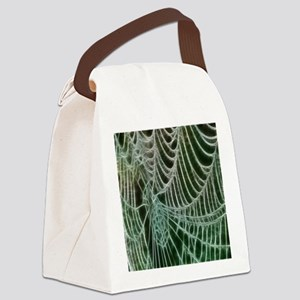 Spiders Web Canvas Lunch Bag