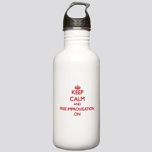 Keep Calm and Free Imp Stainless Water Bottle 1.0L