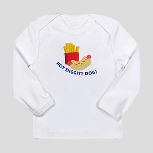 Hot Diggity Dog! Long Sleeve T-Shirt