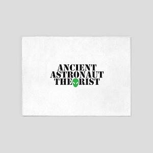 Ancient Astronaut Theorist Alien Fu 5'x7'Area Rug