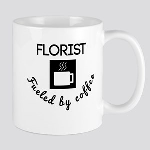 Florist Fueled By Coffee Mugs