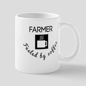 Farmer Fueled By Coffee Mugs