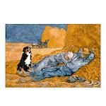 Dog in Van Gogh Painting Postcards (Package of 8)
