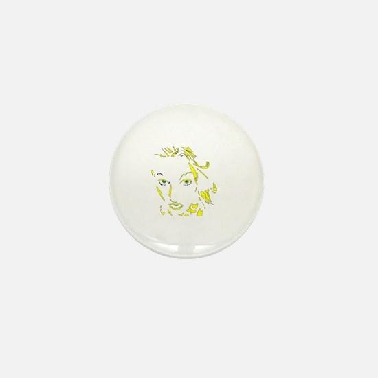 Unique Amanda Mini Button