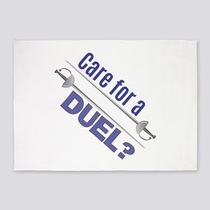 Care For A Duel 5'x7'Area Rug