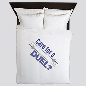 Care For A Duel Queen Duvet