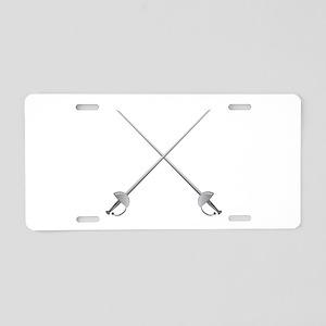 Rapier Swords Aluminum License Plate