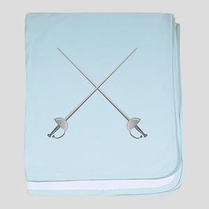 Rapier Swords baby blanket