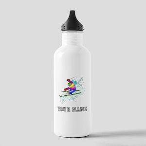 Skier (Custom) Water Bottle