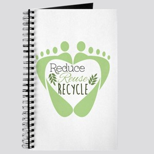 Reduce Reuse Recycle Journal