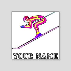 Ski Racer (Custom) Sticker