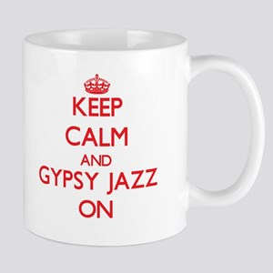 Keep Calm and Gypsy Jazz ON Mugs