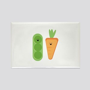 Carrots & Peas Magnets