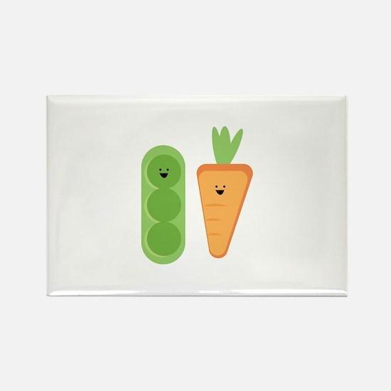 Carrots & Peas Magnets