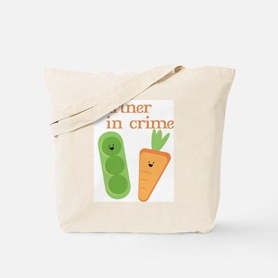 Partner In Crime Tote Bag