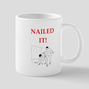 handball joke Mugs