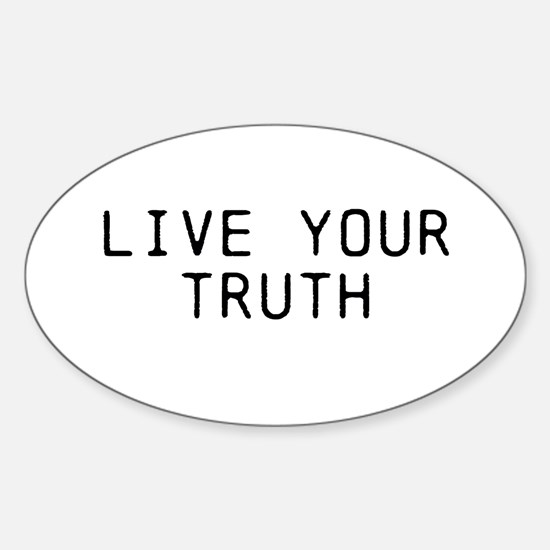 Live Your Truth Decal