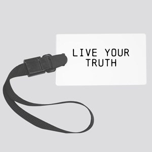 Live Your Truth Luggage Tag