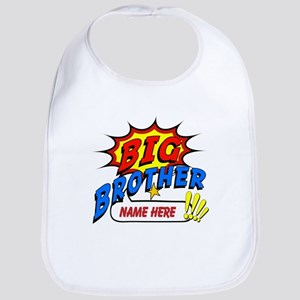Big Brother Superhero Bib