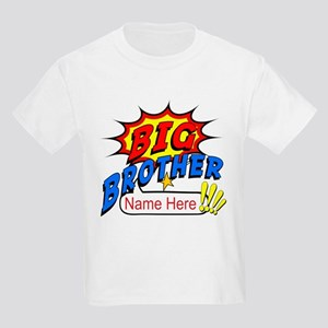 Big Brother Superhero Kids Light T-Shirt