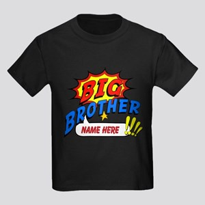 Big Brother Superhero Kids Dark T-Shirt