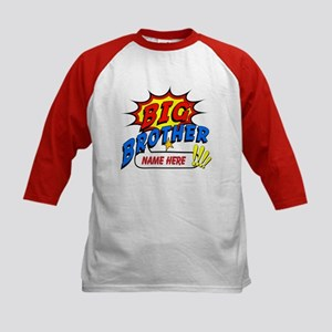 Big Brother Superhero Kids Baseball Jersey