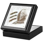 Carrie Stevens Gray Ghosts Keepsake Box