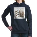 Carrie Stevens Gray Women's Hooded Sweatshirt