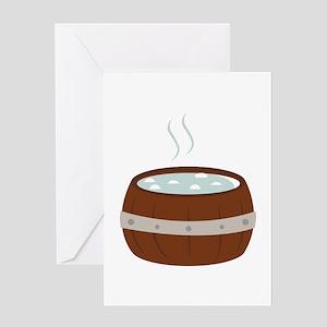 Hot Tub Greeting Cards