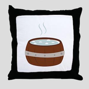 Hot Tub Throw Pillow