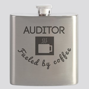 Auditor Fueled By Coffee Flask