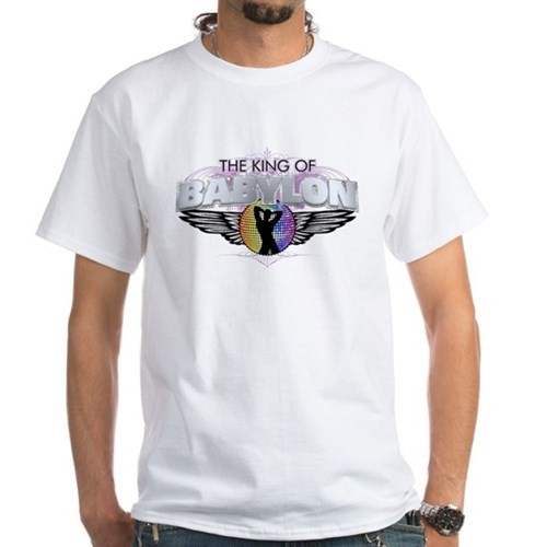 The King of Babylon White T-Shirt