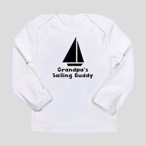 Grandpas Sailing Buddy Long Sleeve T-Shirt
