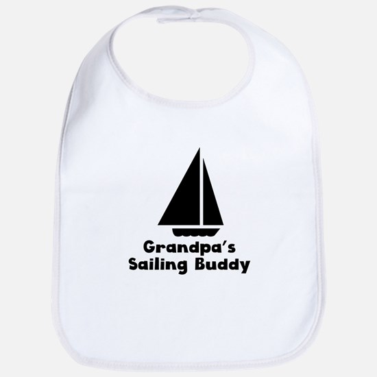 Grandpas Sailing Buddy Bib