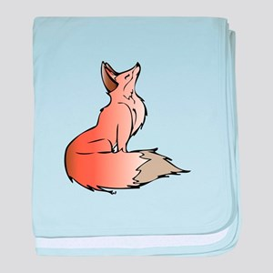 Red Fox baby blanket