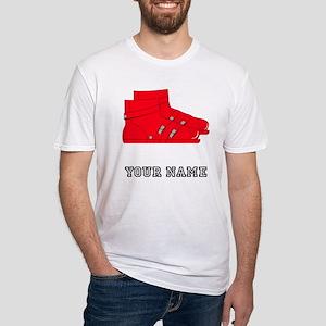 Red Ski Boots (Custom) T-Shirt