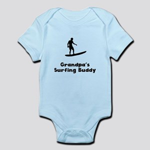 Grandpas Surfing Buddy Body Suit