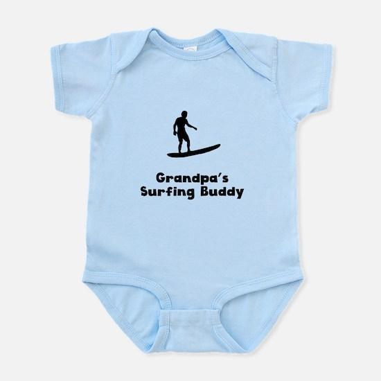 Grandpas Surfing Buddy Body Suit