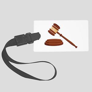 Judge Gavel Luggage Tag