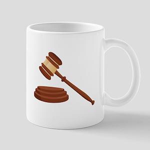 Judge Gavel Mugs