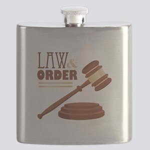 Law & Order Flask