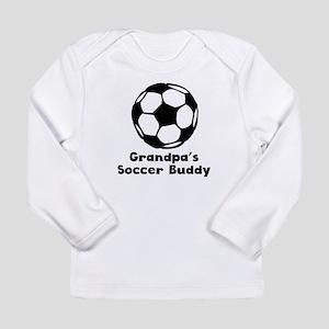 Grandpas Soccer Buddy Long Sleeve T-Shirt