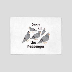 Messenger Pigeon 5'x7'Area Rug