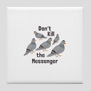 Messenger Pigeon Tile Coaster