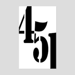 451  Sticker (Rectangle)