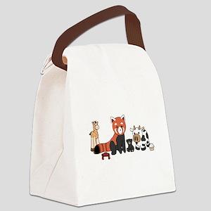 Fun Stuffed Canvas Lunch Bag