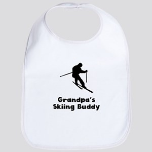 Grandpas Skiing Buddy Bib
