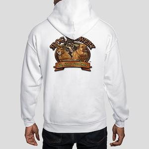 2-3dog Brewerylogo_tagline Hooded Sweatshirt